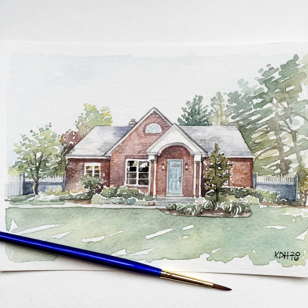 Pennsylvania Home [5x7]