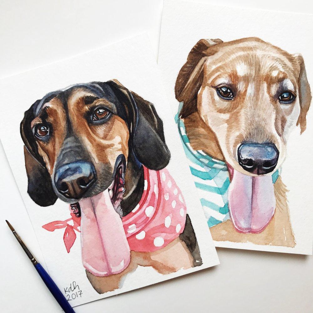 Bella & Harper [5x7's]