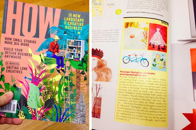 Scott Hull Associates Penelope Dullaghan in HOW magazine