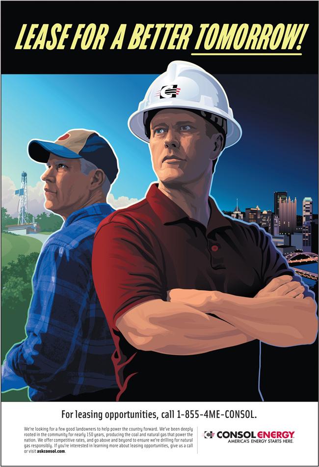 Mark Riedy Consol Energy illustration for Brunner with Scott Hull Associates