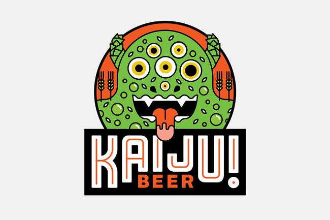 Scott Hull Associates Mikey Burton for Kaiju! label