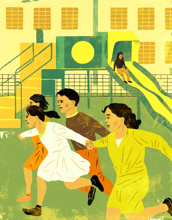 Curtist Parker for Health Progress Magazine about playgrounds