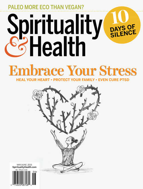 Penelope Dullaghan with Scott Hull Associates sketch for Spirituality&Health