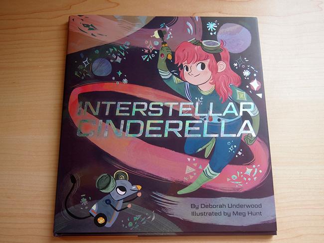 Meg Hunt from Scott Hull Associates Interstellar Cinderella book cover