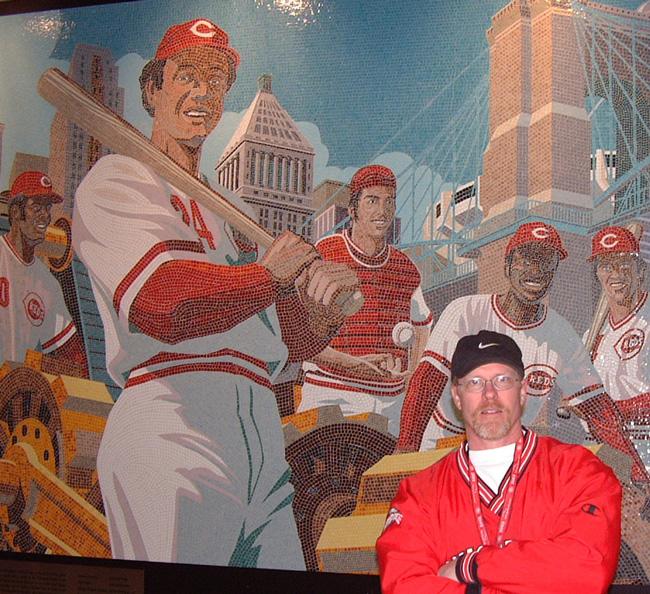 Mark Riedy from Scott Hull Associates GABP 1975 mural detail