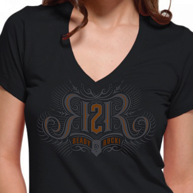 Mark Riedy from Scott Hull Associates for Ready 2 Rock identity T-Shirt