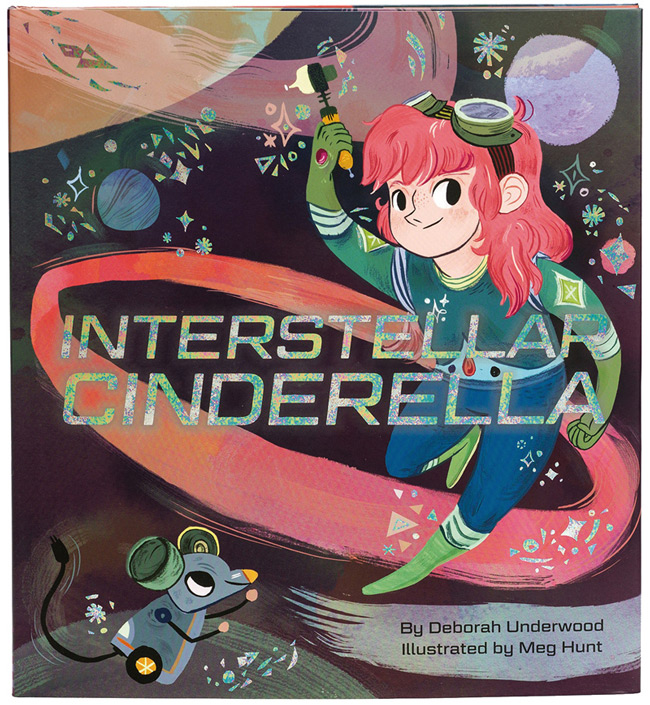 Meg Hunt from Scott Hull Associates for Interstella Cinderella cover