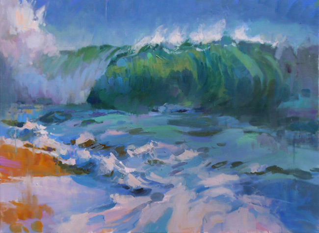 Larry Moore from Scott Hull Associates for Surfology 2. Big Wave