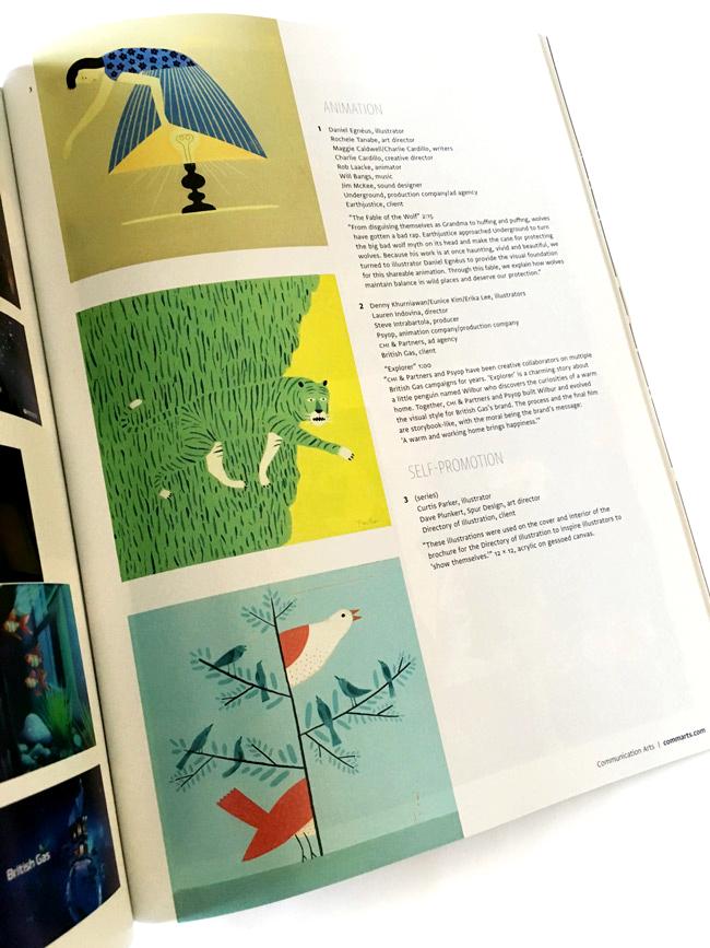 Curtis Parker from Scott Hull Associates for CA Illustration Annual