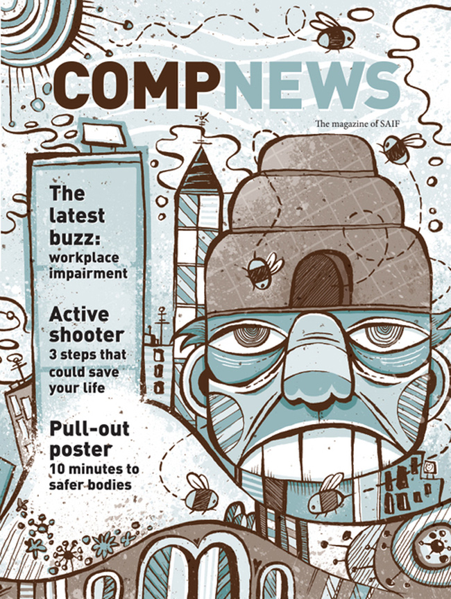 Von Glitschka from Scott Hull Associates COMPNEWS cover