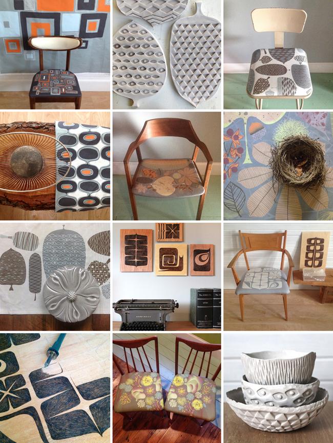 The MODbotanical collection of Lisa Ballard