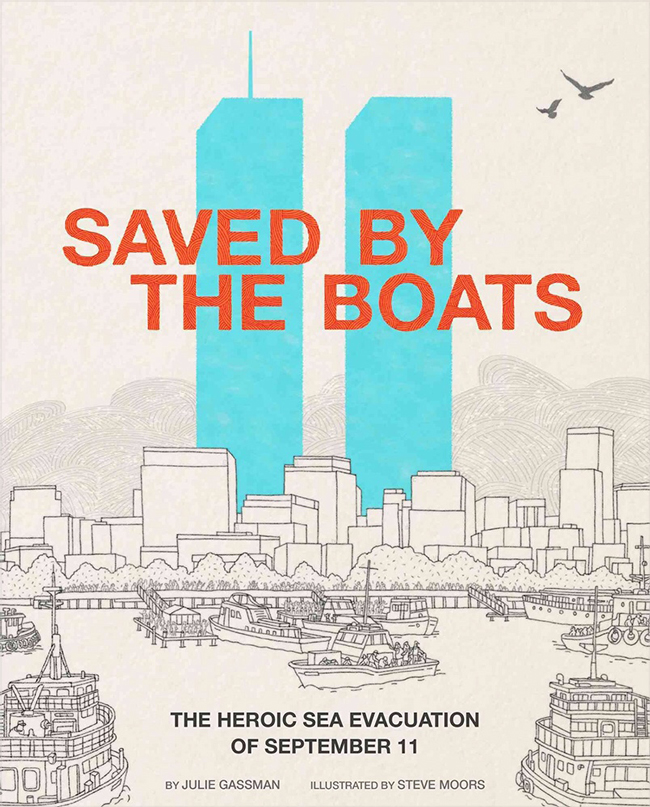 Save by the Boats Cover illustration