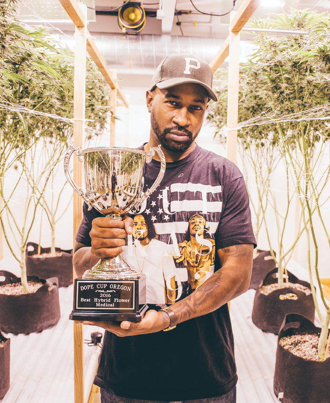 Although Jesce Horton only launched Panacea Valley Gardens in January 2015, his work has already garnered recognition. This year, Saints Cannabis won an Oregon Dope Cup for Best Hybrid Flower - Medical for its Fire OG.