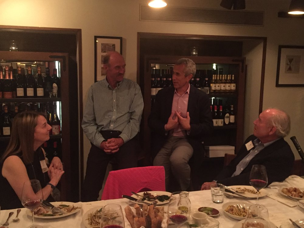 Stan Smith and Danny Meyer share their stories