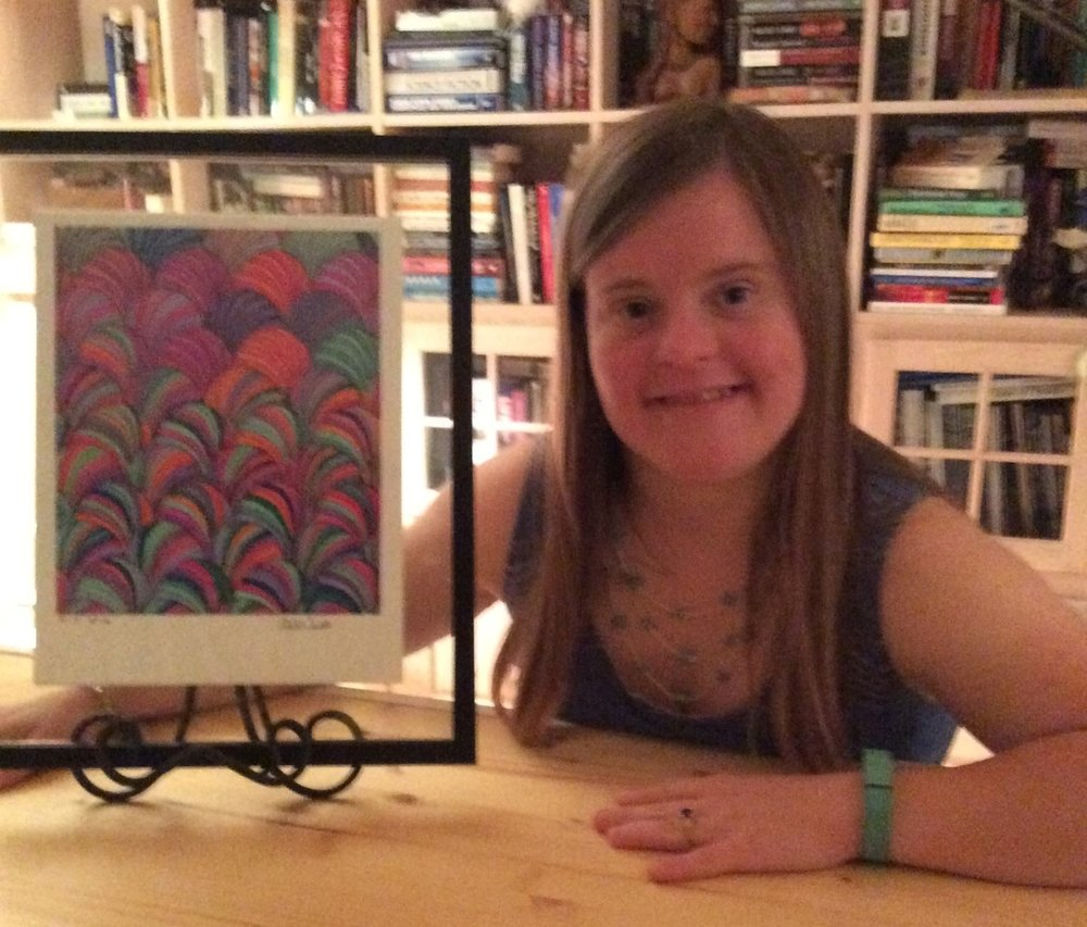 Alissa (above) has an idea that could change the way people with disabilities travel