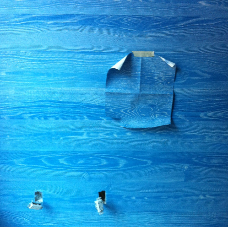 Sèvres Blue Faux Wood