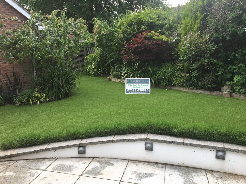 Artificial Grass for Domestic Clients