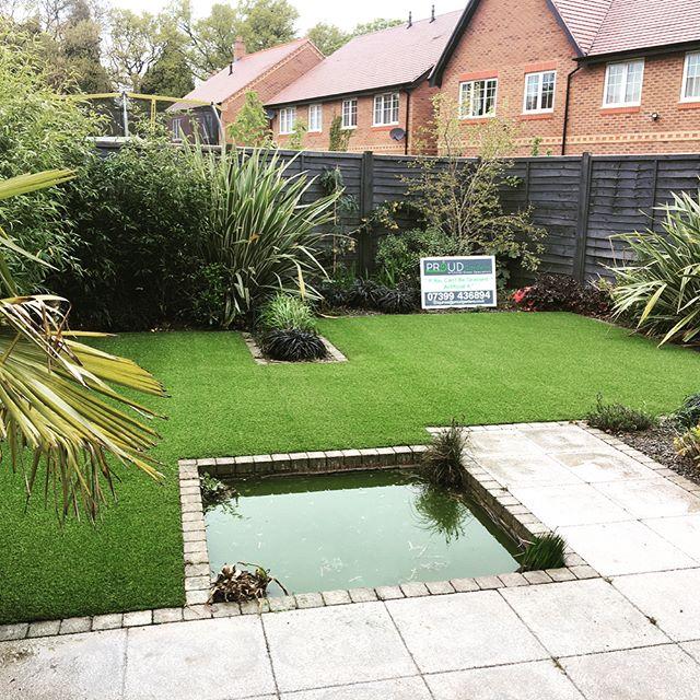 Artificial lawn in Birmingham
