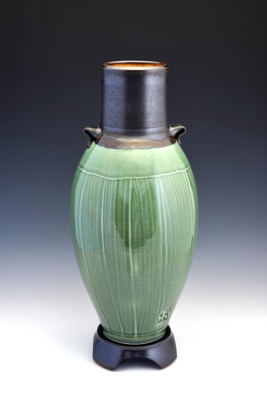 Oribe Vase