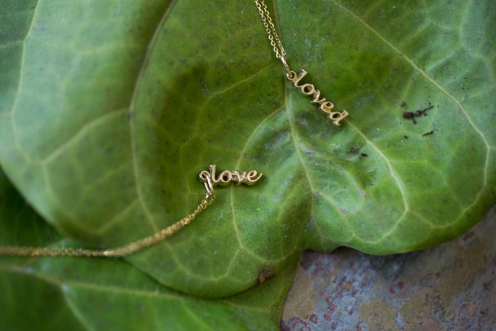 Love Wallace Gold Collection Necklace | Cale & Cole