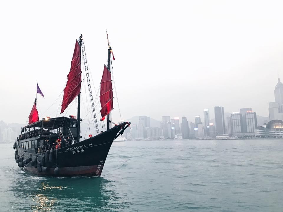 January - Hong Kong | Victoria Harbour