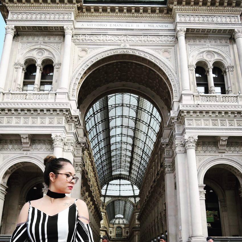 April: Milan, Italy | A Vittorio Emanuele II