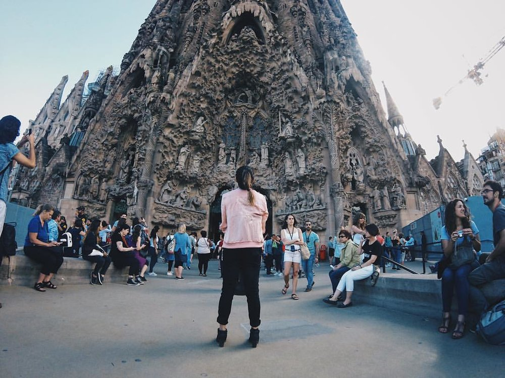 June: Barcelona, Spain | Sagrada Familia