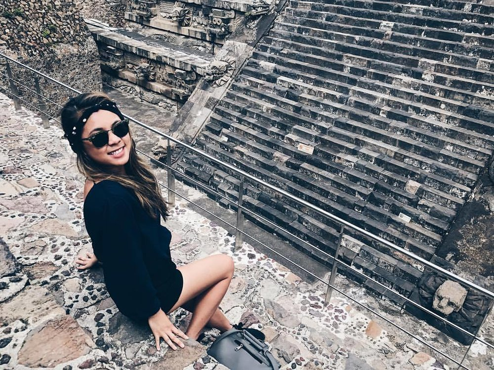 August: Mexico City, Mexico | Teotihuacan Pyramids