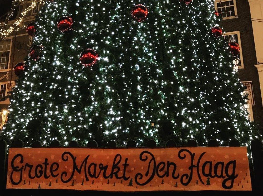 November: Den Haag, Netherlands | Grote Markt
