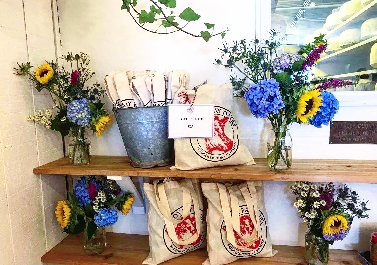 Natural Cotton Totes: $25     Photo by Hamptons Foodie