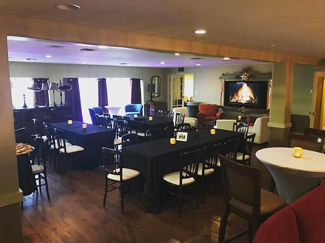 Love our revamped mezzanine! #sunsettemplesd #lifeofaneventplanner #ourgoldenage #sandiegoevents