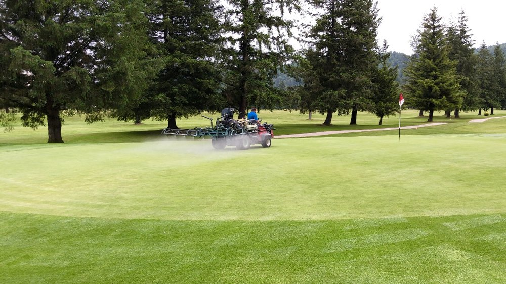Key Product Benefits - 1) Elimination of dry spot and grass yellowing in the heat of the season2) Increase in disease resistance3) No re-entry period4) No special handling/storage required5) Applied using standard golf course equipment