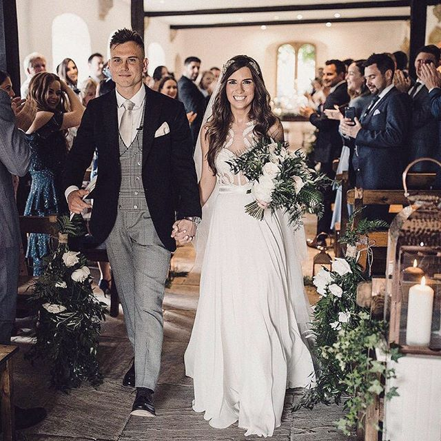 A good start to 2019 - Matt and Anna's beautiful wedding is on rockmywedding.co.uk.