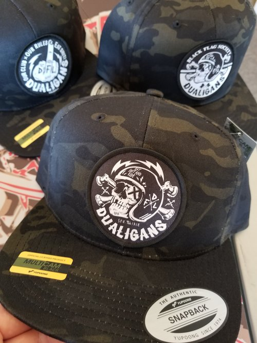 72dab74d253 SPECIAL EDITION Multicam Black Camo Snap Back Hat. 20180710 124724.jpg