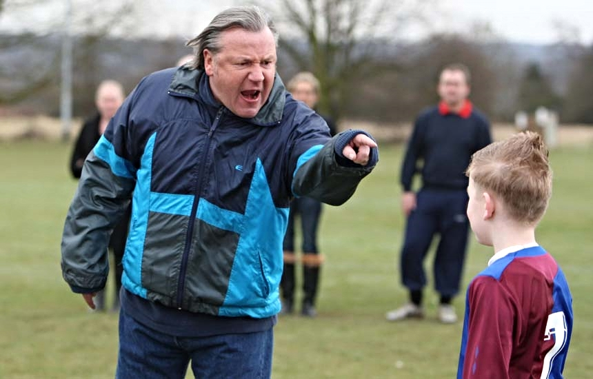 This image of a parent/coach shouting at a child for a making a mistake highlights the challenges still evident in football and often witnessed during local Sunday League football matches; fortunately bodies such as the F.A. and Kick it Out are working hard to make sure that scenes like this are a thing of the past.