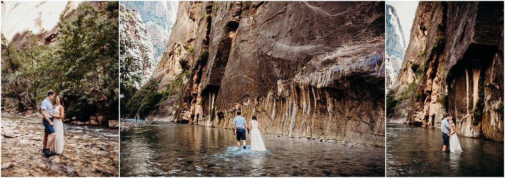 zion national park adventure engagement session zion portraits utah photographer arizona photographer 5.jpg