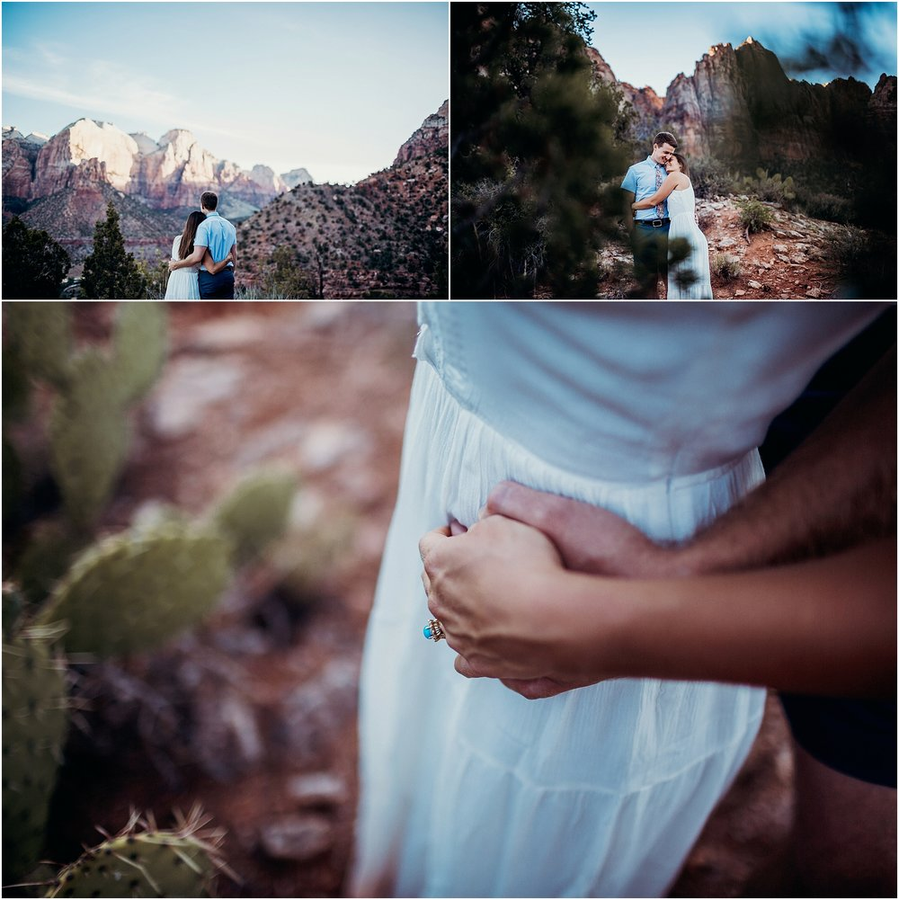 zion national park adventure engagement session zion portraits utah photographer arizona photographer 11.jpg