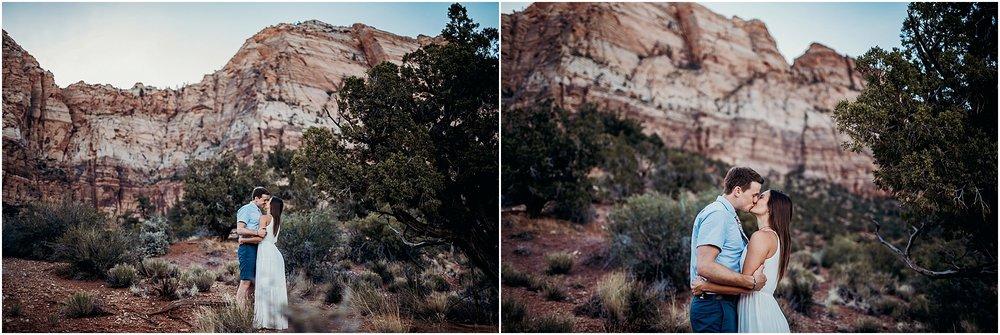 zion national park adventure engagement session zion portraits utah photographer arizona photographer 15.jpg