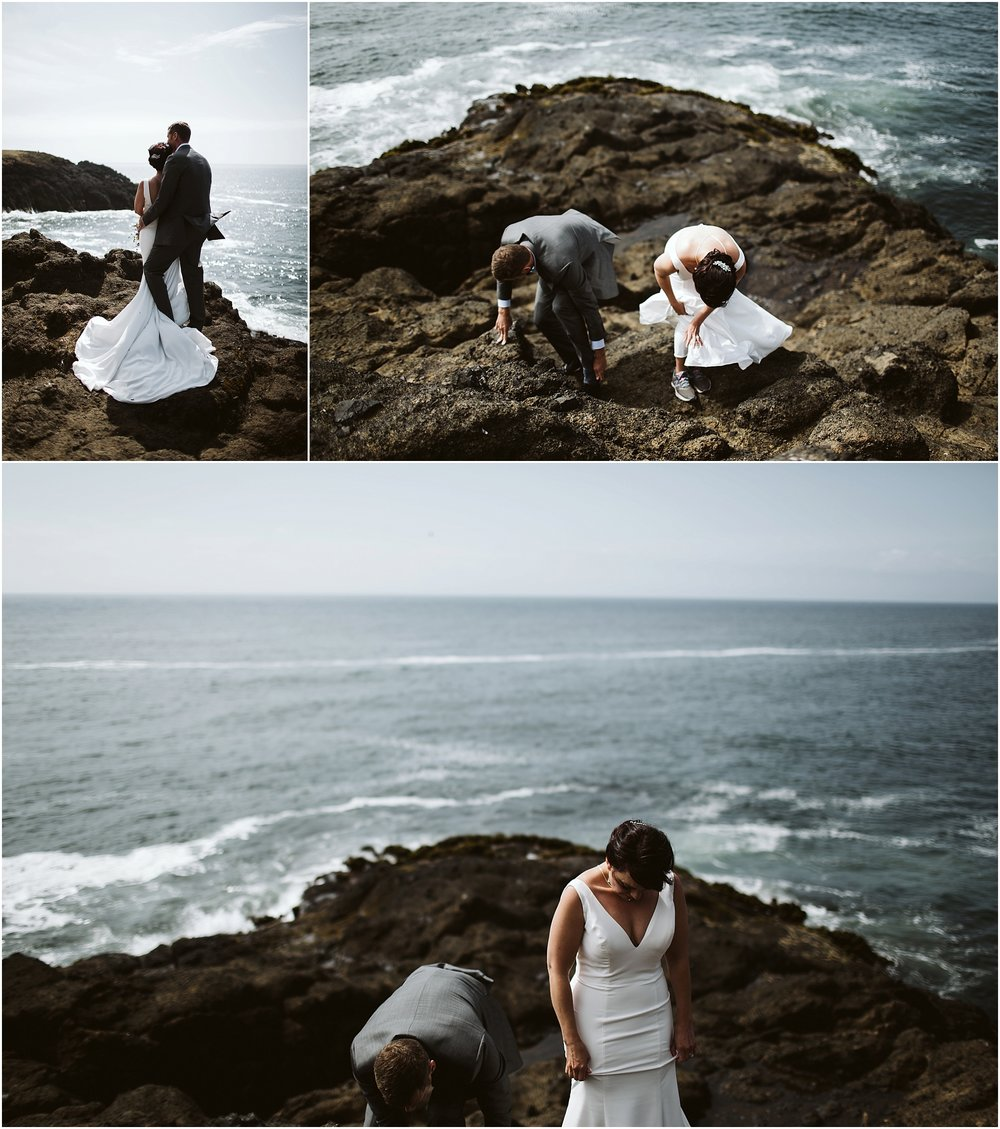 Oregon Coast Intimate Wedding | oregon elopement photographer | oregon elopement16.jpg