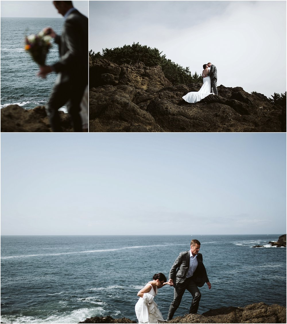 Oregon Coast Intimate Wedding | oregon elopement photographer | oregon elopement17.jpg