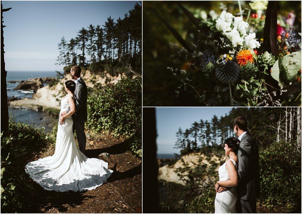 Oregon Coast Intimate Wedding | oregon elopement photographer | oregon elopement23.jpg