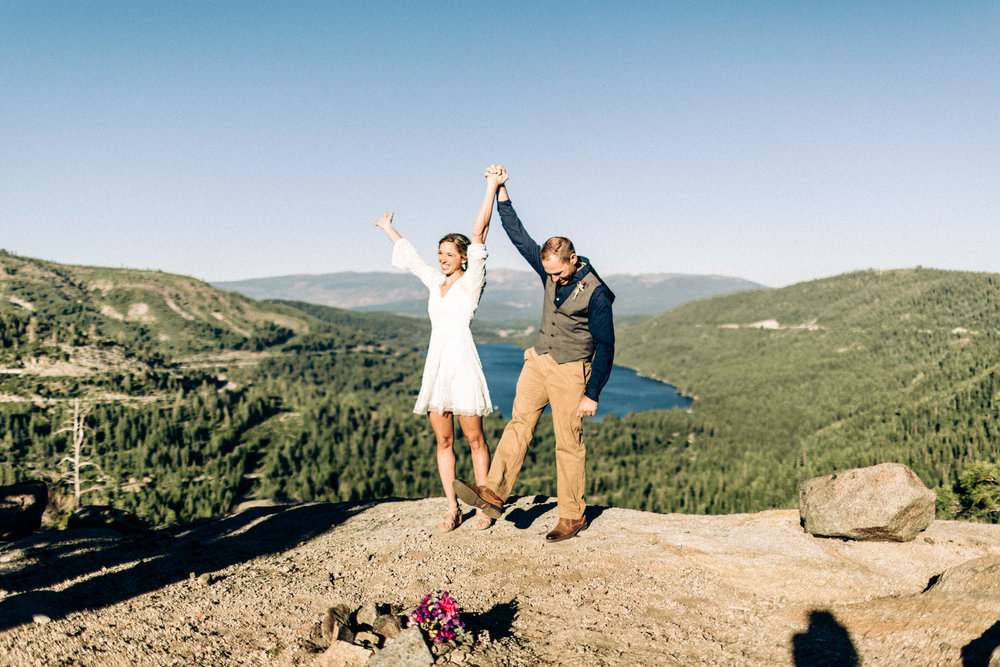 how to plan an elopement in 2 weeks