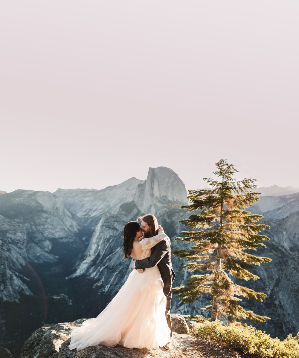 MT. SHASTA ELOPEMENT + INTIMATE WEDDING PACKAGE // STARTING AT $5000 - - up to 15 guests- 6 hours of coverage - in-person or online consultation- access to full planning + location guide - online gallery of high-res images + usb- $500 album credit- no travel fees within the Lake Tahoe basin*most popular | lets do it!