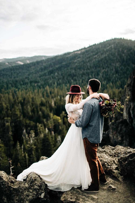 adventure elopement tahoe