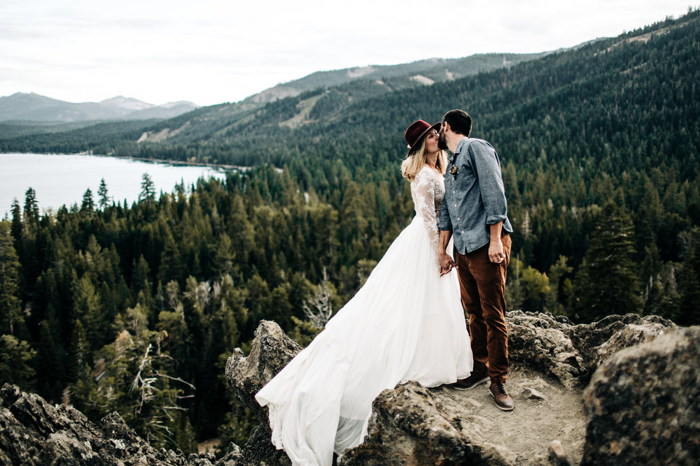 ELOPEMENT PLANNING PACKAGES - Starting at $5000Yeah, you read that right. I'll plan your elopement, and I'll do it with a smile on my face. Elopement planning is available in Lake Tahoe, Truckee, and beyond!