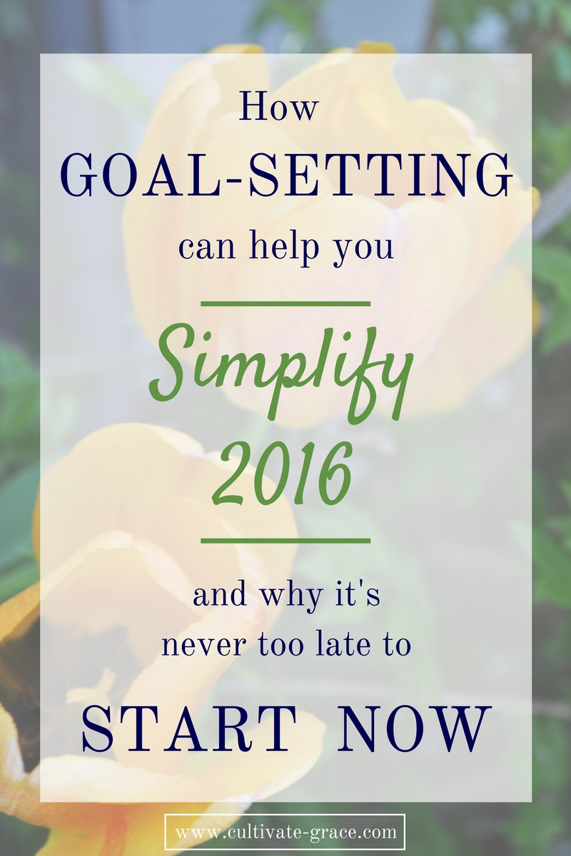 How Goal Setting Can Help You Simplify 2016