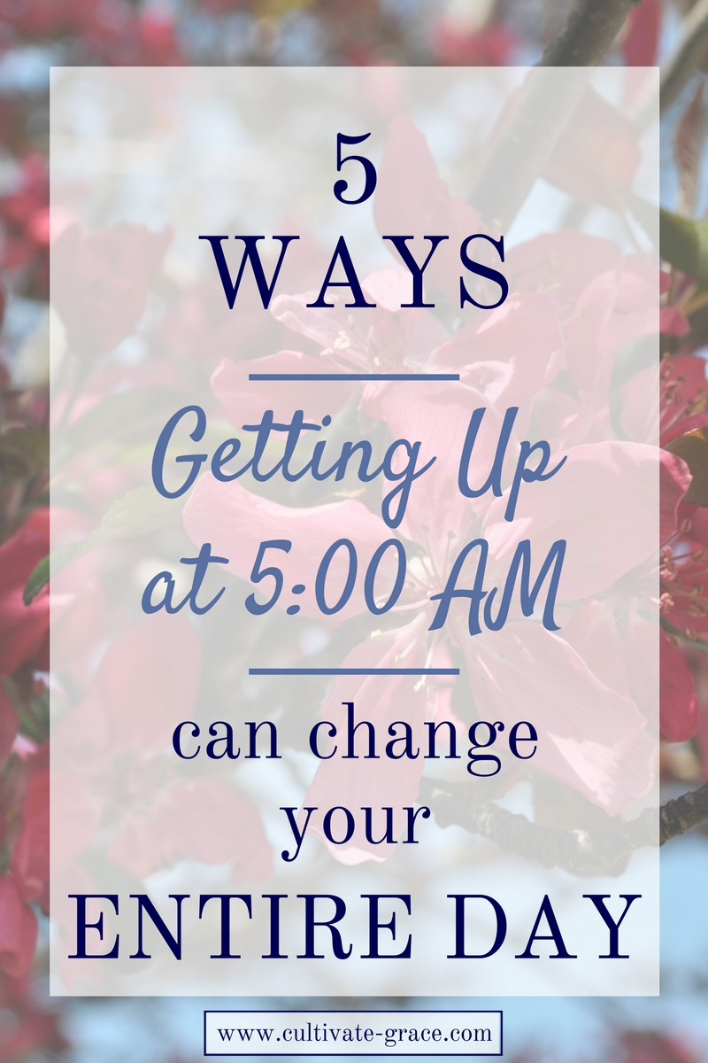 Five Ways Getting Up Earlier Can Change Your Entire Day