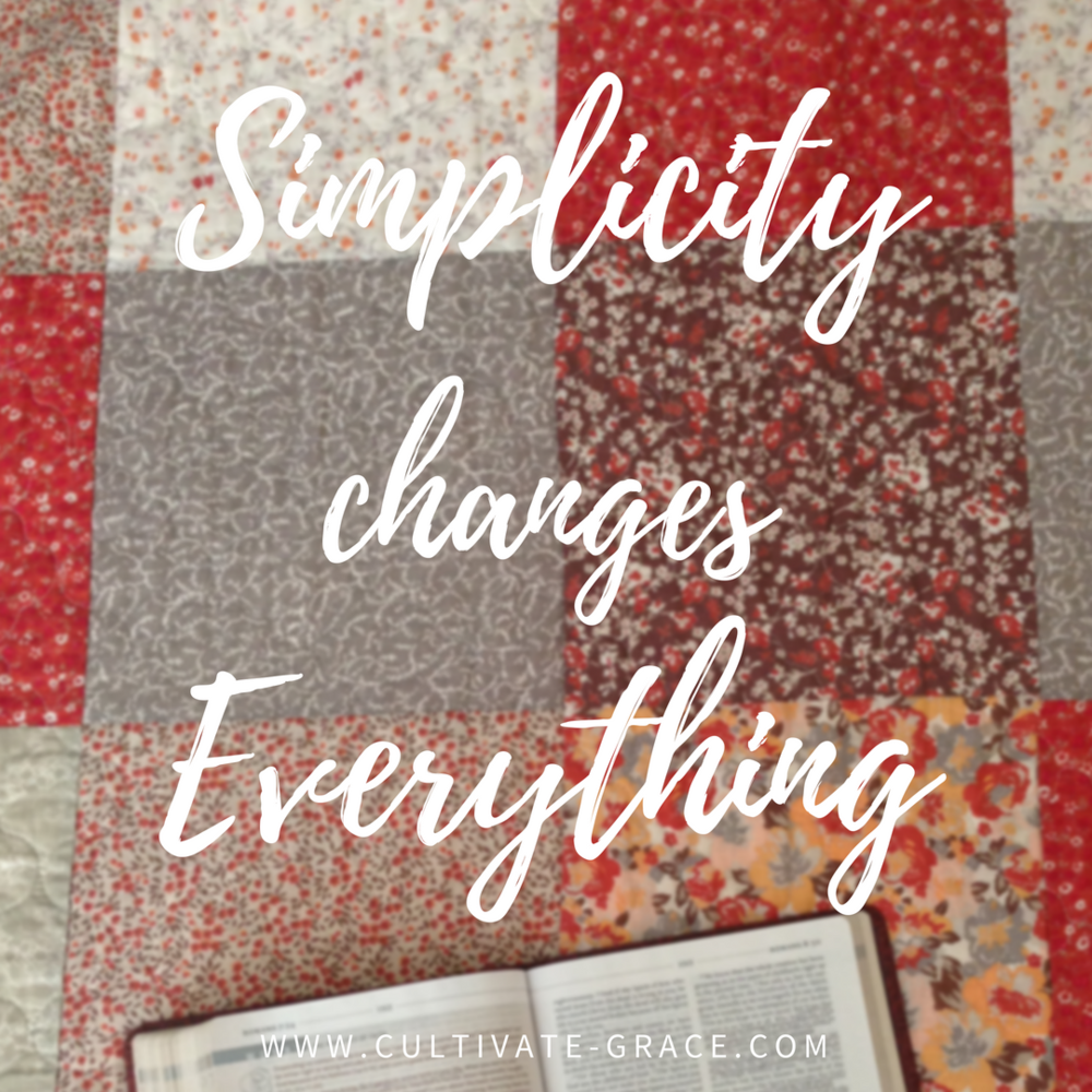 Simplicity Changes Everything