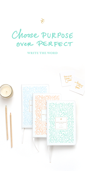 Lara Casey - Write the Word Journal - Cultivate What Matters Shop