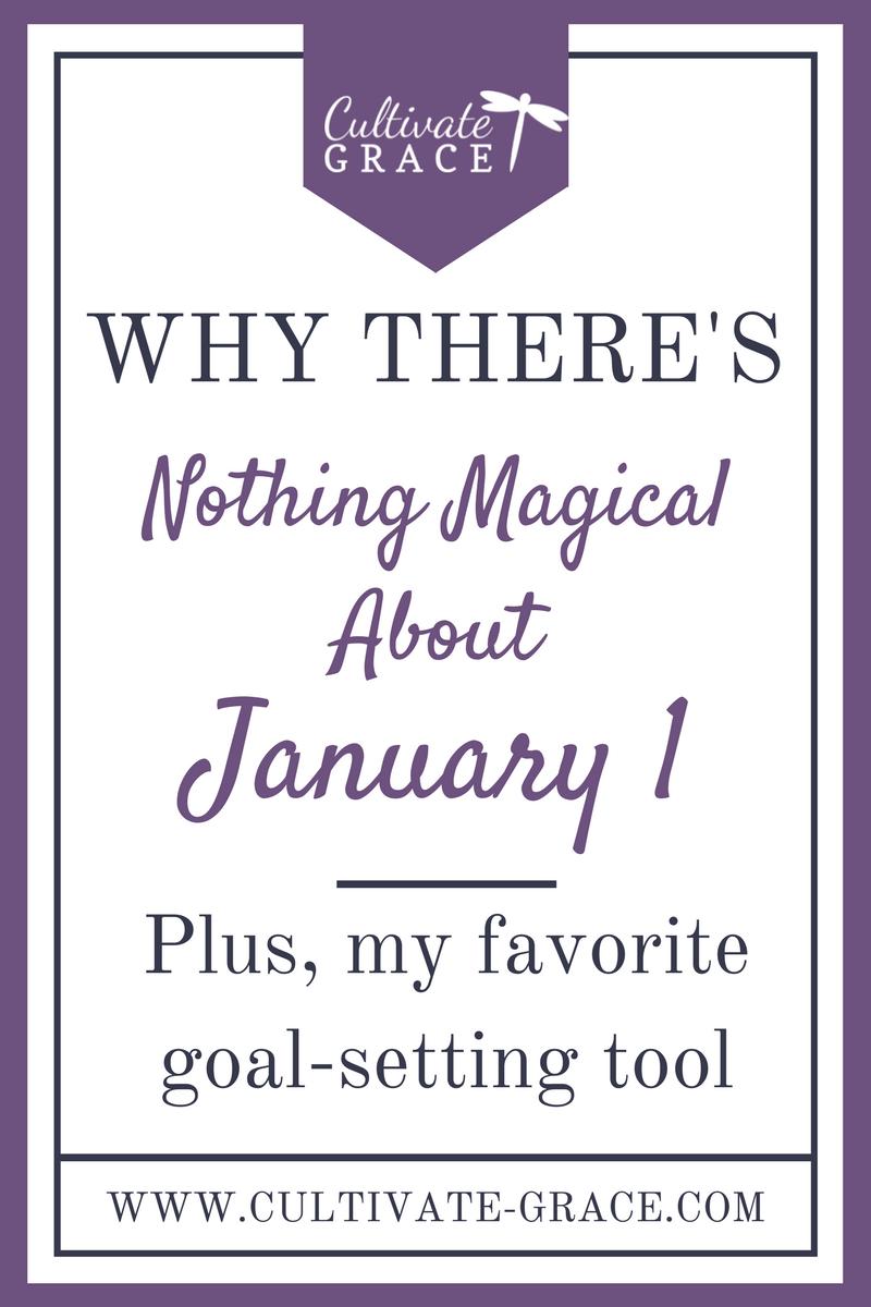 Goal-Setting Tips & Encouragement - Cultivate Grace